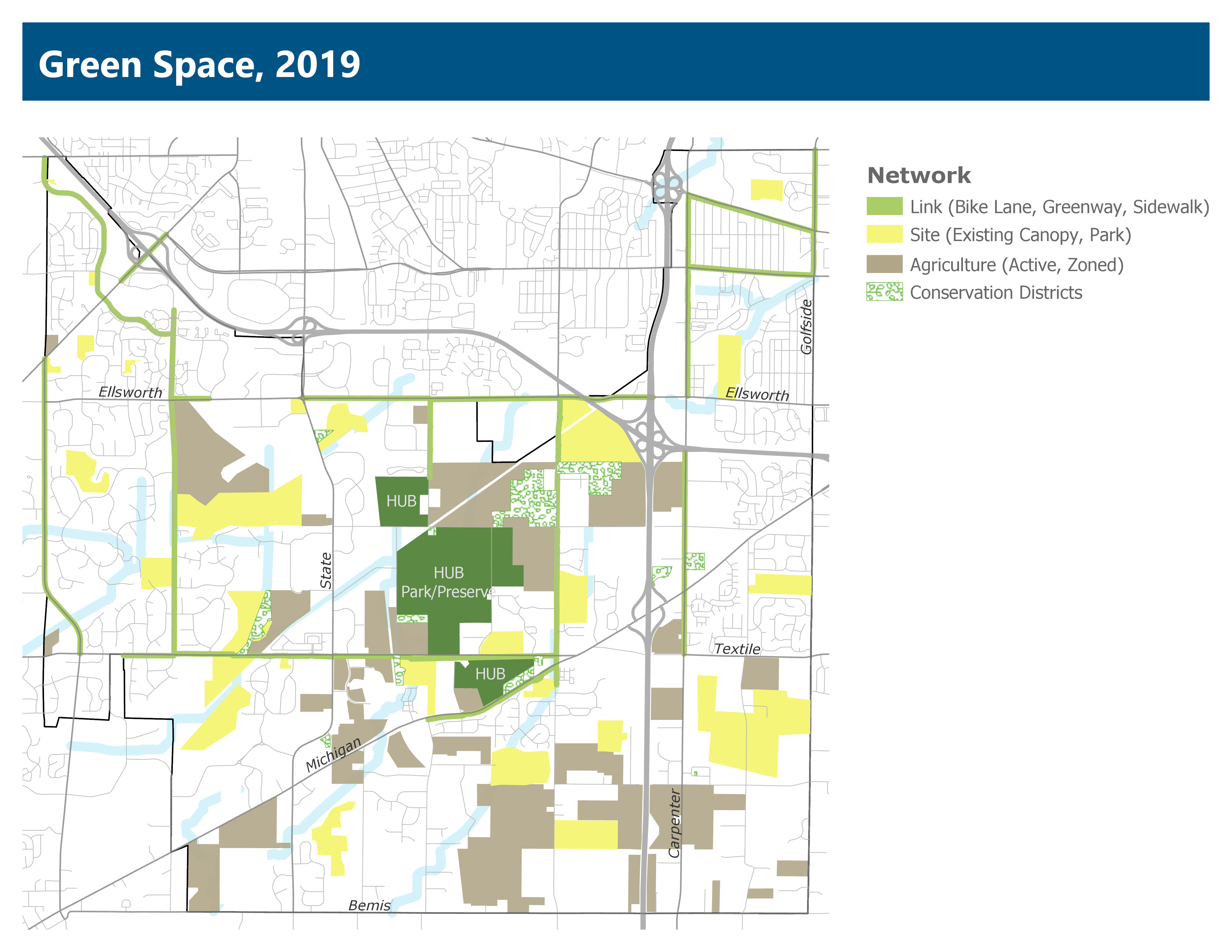Green Space Map 2019