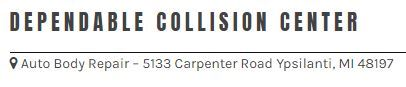Dependable Collision Center