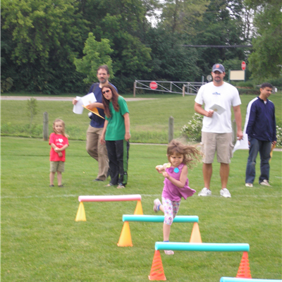 Pee Wee Olympics - obstacle course