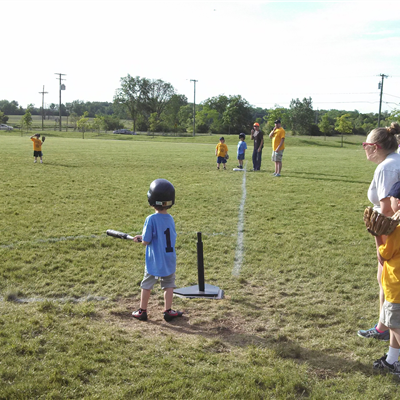 T-ball game 1