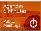 Agendas and Minutes - Public Meetings