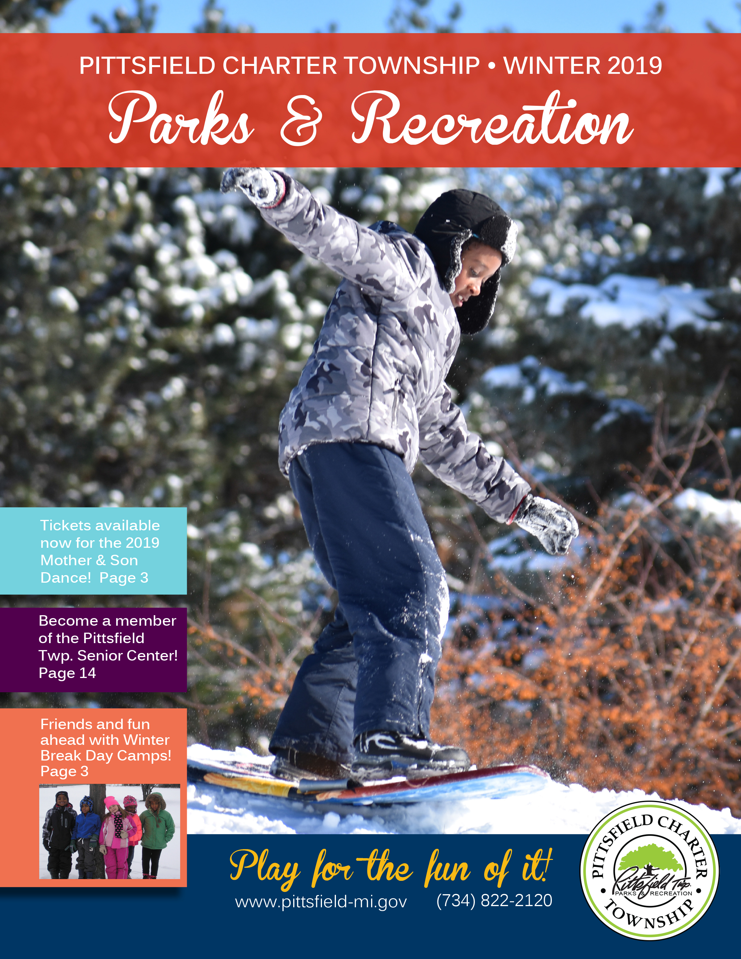 Parks and Recreation Brochure