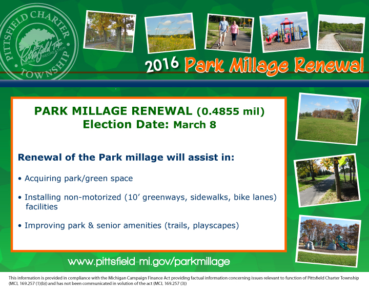 Park Millage Renewal