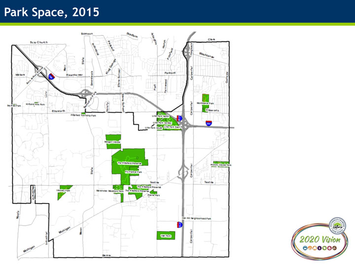 2015 Park Space Map