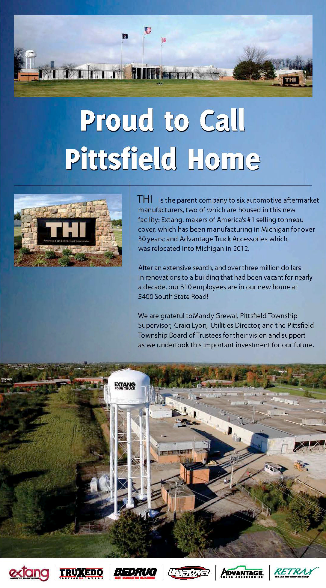 THI Proud to Call Pittsfield Home