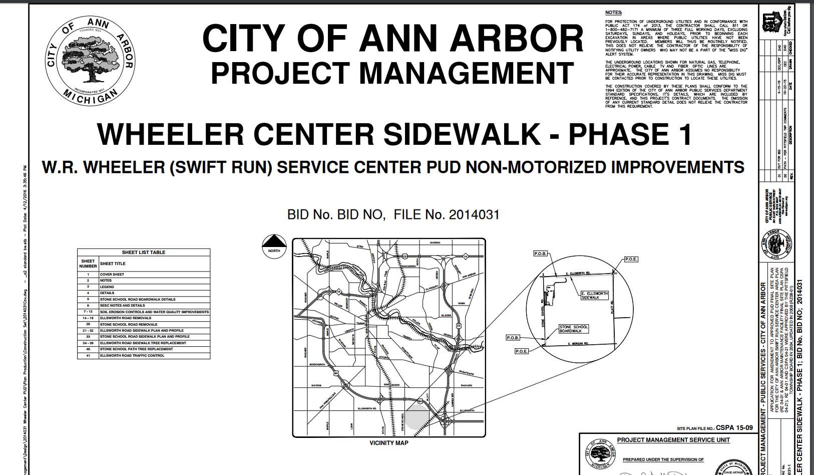 Ellsworth pathway plan