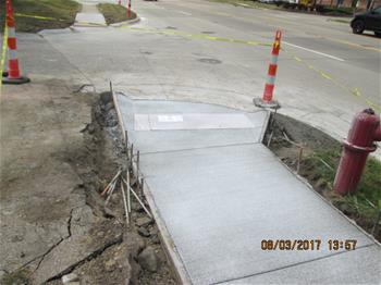 Washtenaw Ave Sidewalk Project