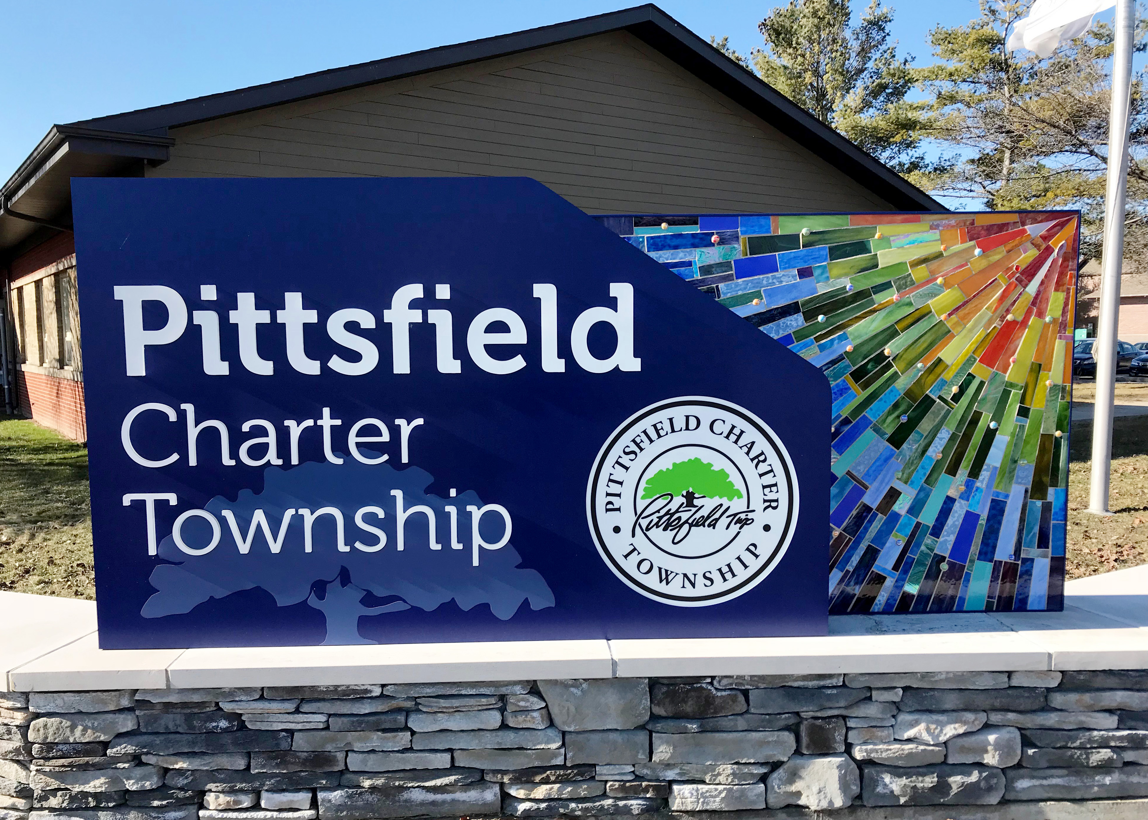 Pittsfield Township Gateway Sign