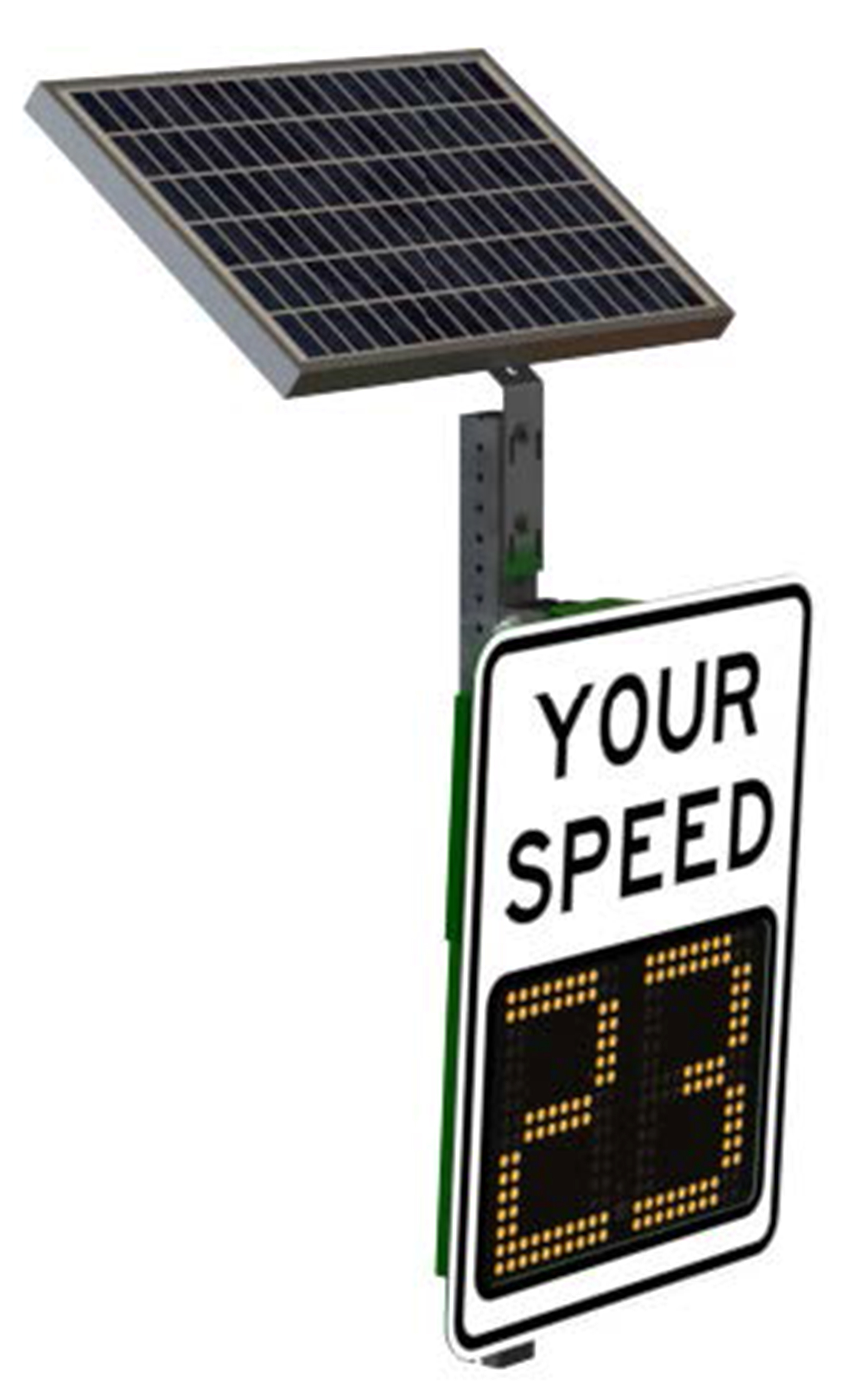 Dynamic Speed Display (DSD) Sign